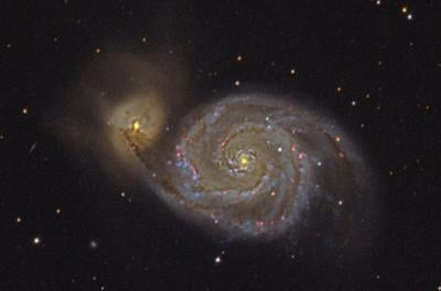 Astronomy: A galactic whirlpool