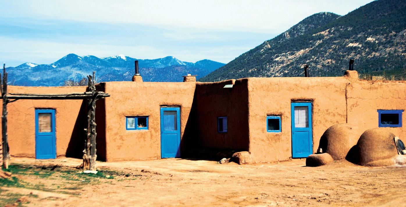 One door, two doors, three doors, blue doors