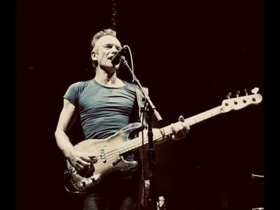 Sting is coming to Taos