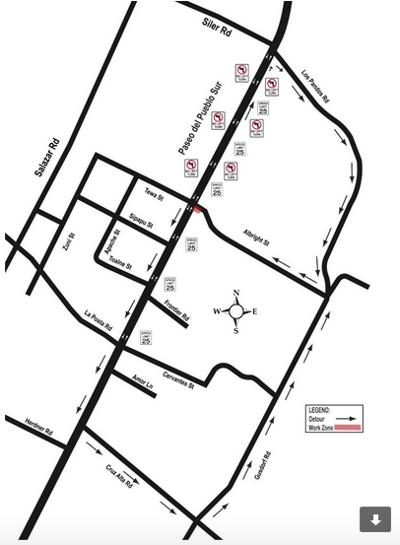 Left turn restrictions on Paseo start Monday
