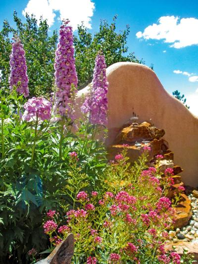 Tour luscious homes and gardens in Taos