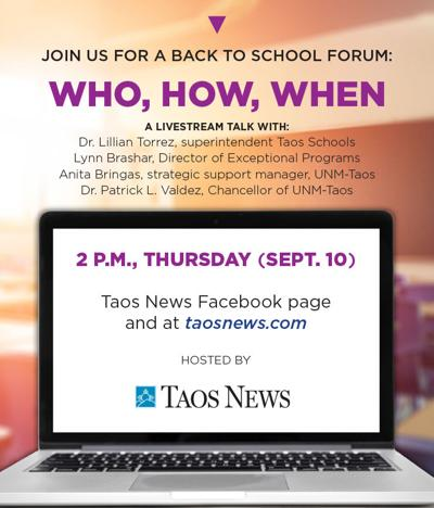 UNM-Taos chancellor to join next education livestream