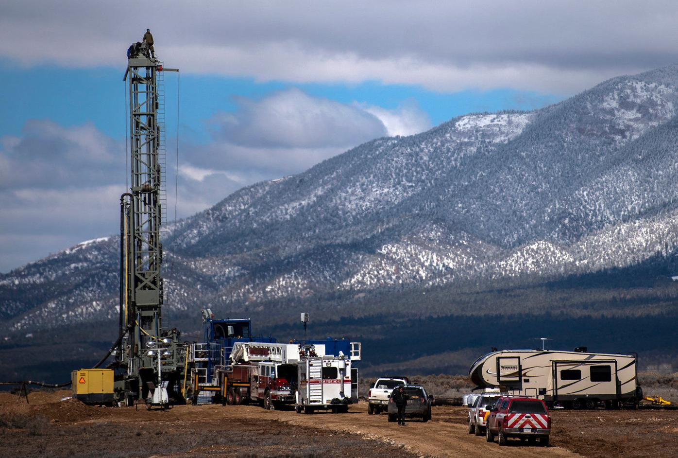 Taos water protectors protest new wells