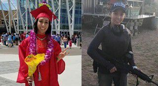 Elise Iringan, the latest Taoseña police cadet