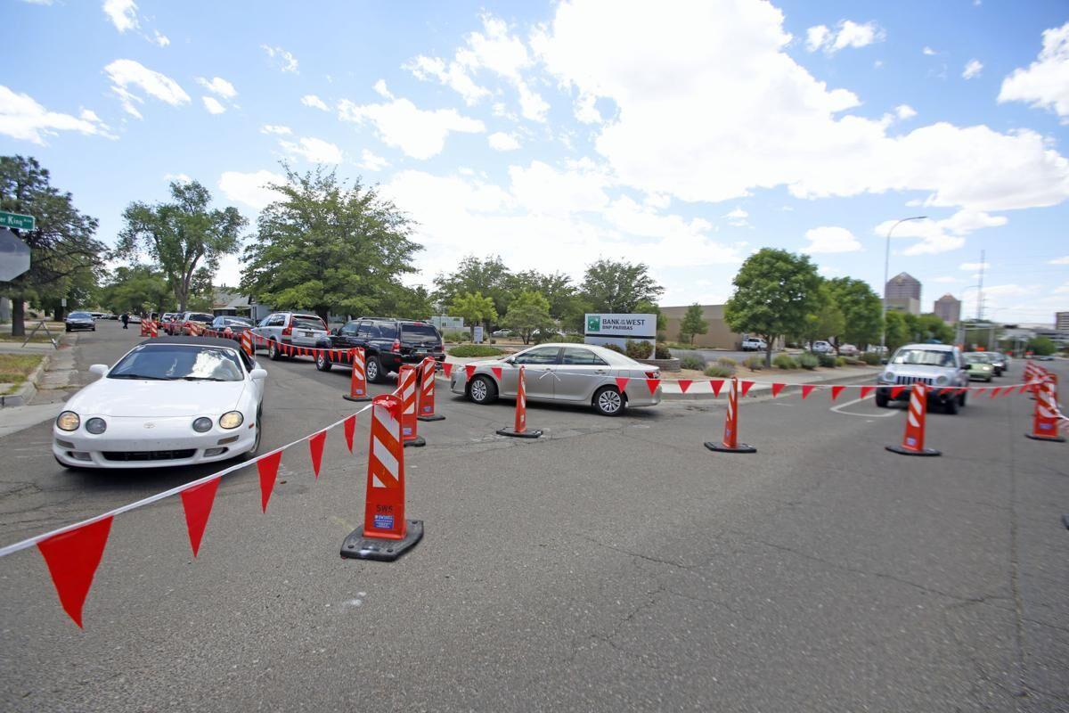 Free drive-thru COVID testing on Wednesday 2