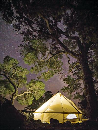 Glamping lets you touch nature and history in comfort