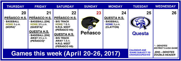Big weekend coming up for Taos County sports