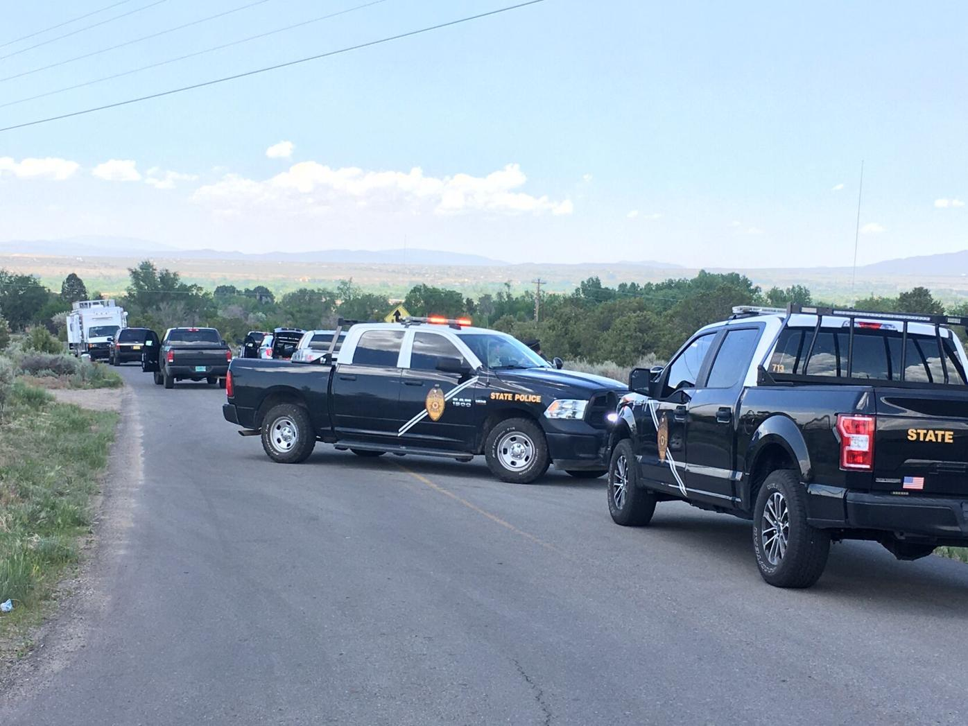Officer involved shooting near Cruz Alta