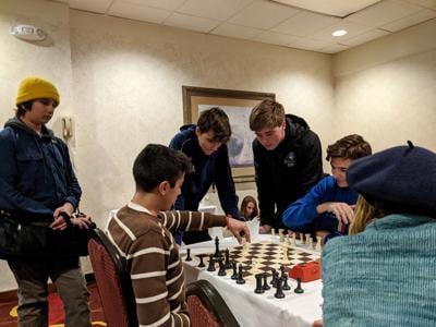 Knighthawks take third at state chess championships