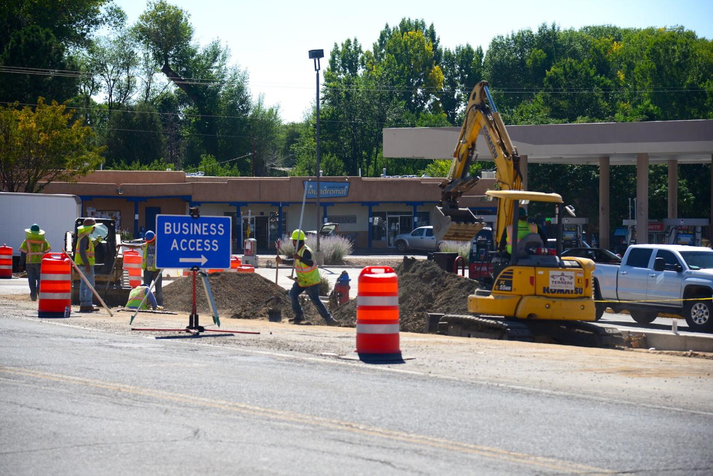 Paseo construction 9-17-21