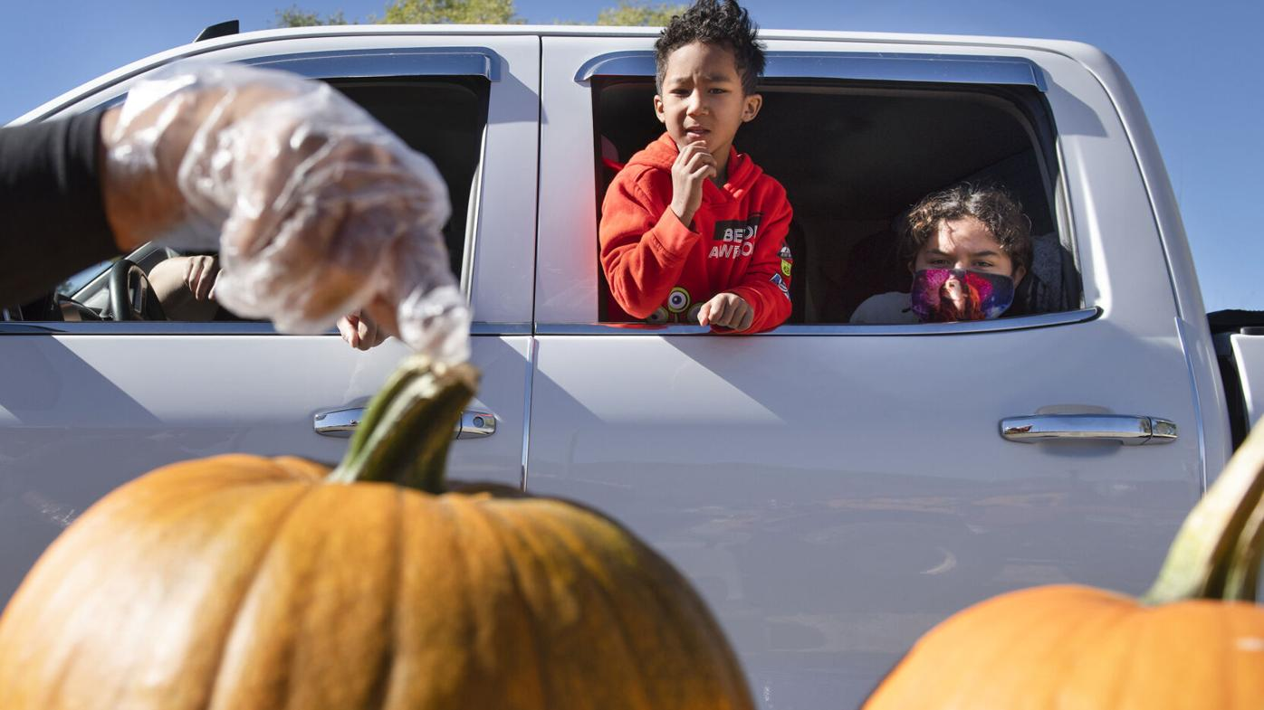 Photo Gallery: Not Forgotten Outreach hosts Pandemic Pumpkin Giveaway