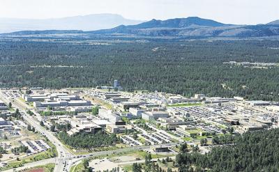 Los Alamos National Lab (LANL) and surrounding regions