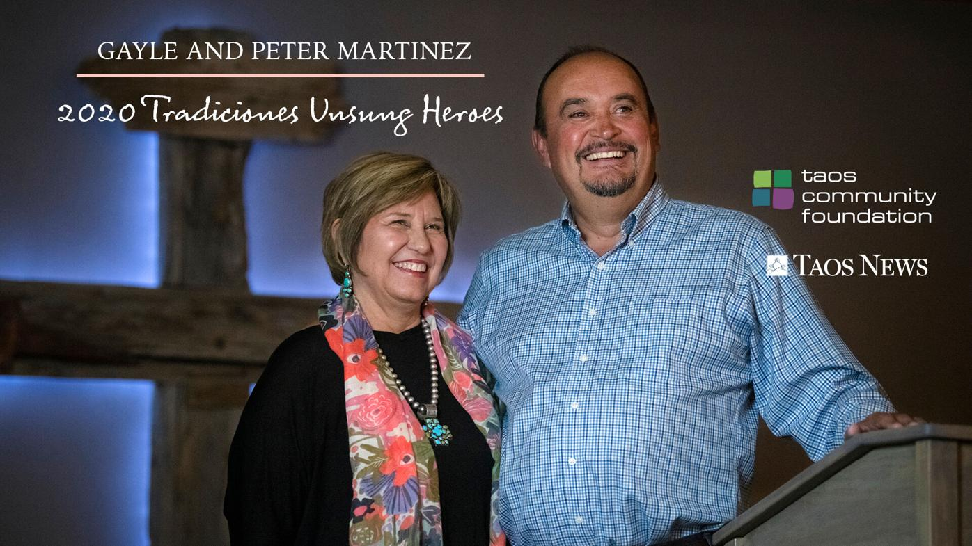 Fellowship and families: Gayle and Peter MartÍnez
