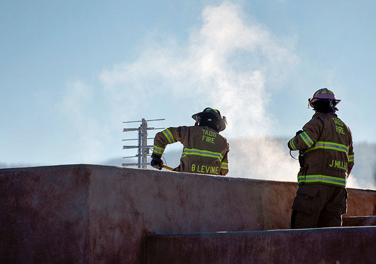 Taos DA: Woman who admitted to starting Ranchos house fire 'a danger'