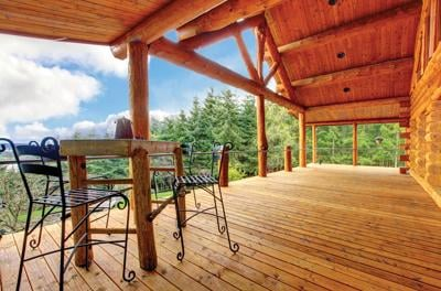Seven essential  features of the  mountain  home