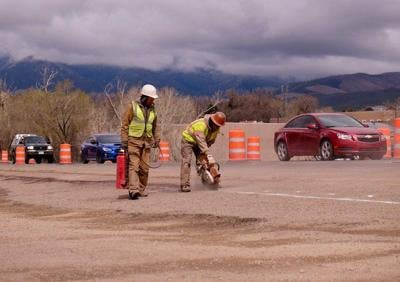 Taos road project resumes after pandemic-related delay