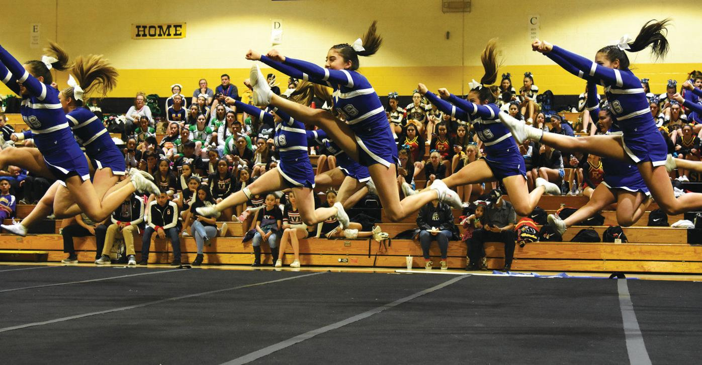 Questa cheer squad battles through sickness to second place