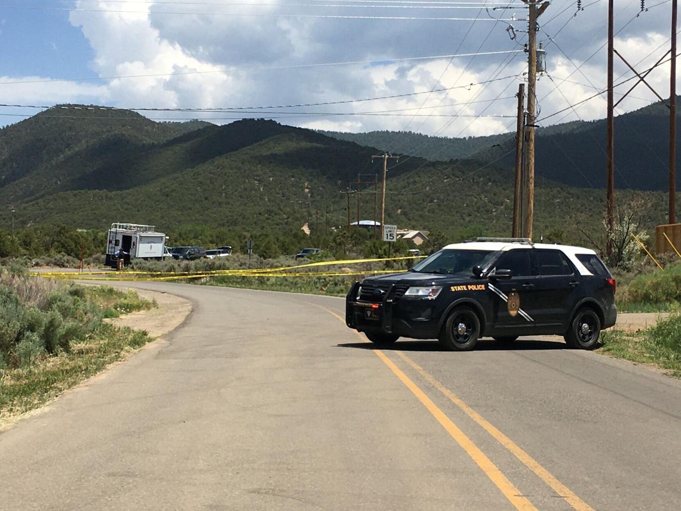 Officer involved shooting on Cruz Alta