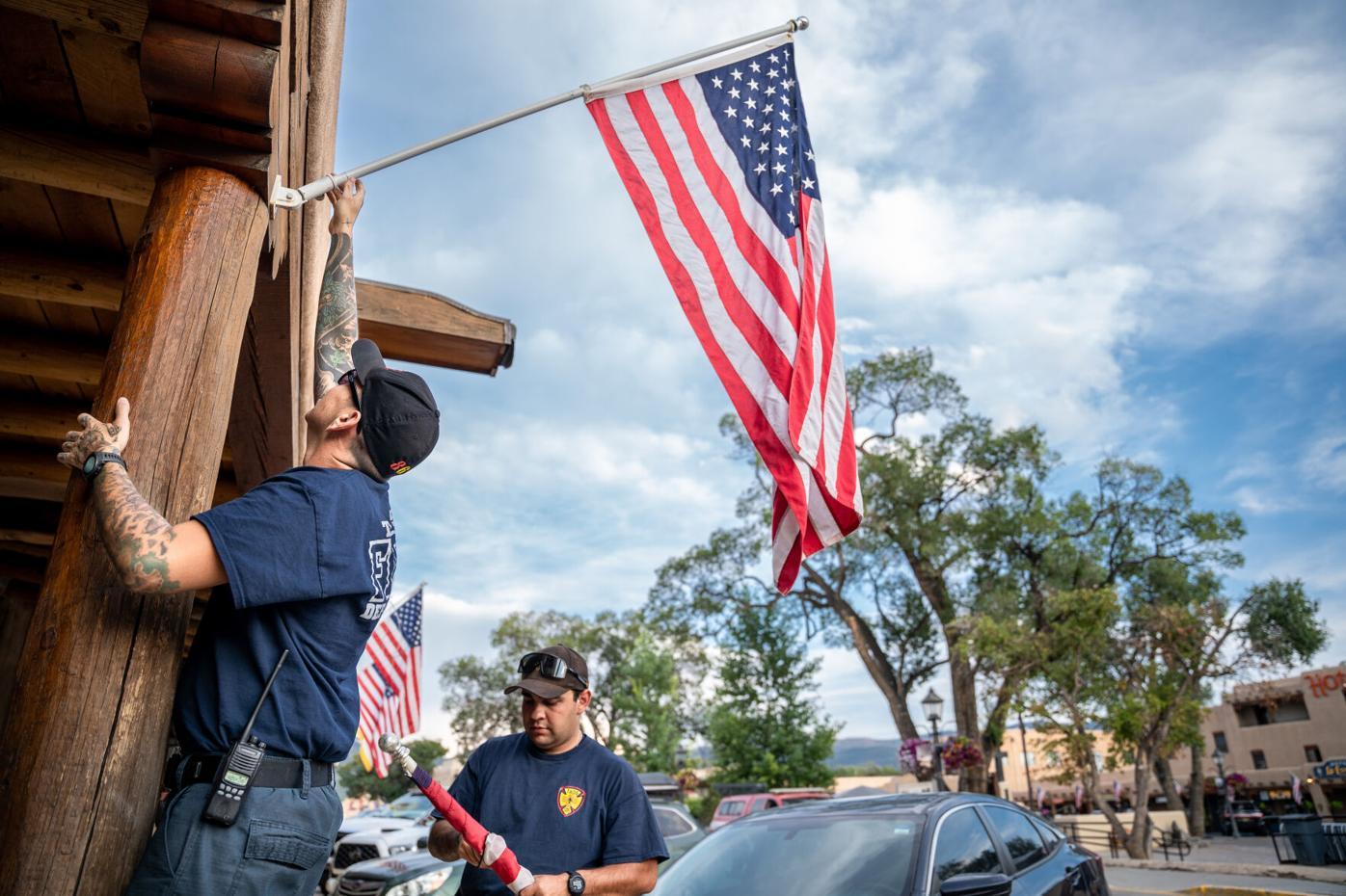 Taos Volunteer Fire Department honors the fallen