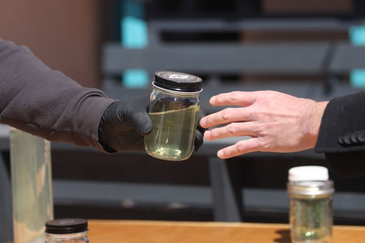 Taos distillery rolls out hand sanitizer
