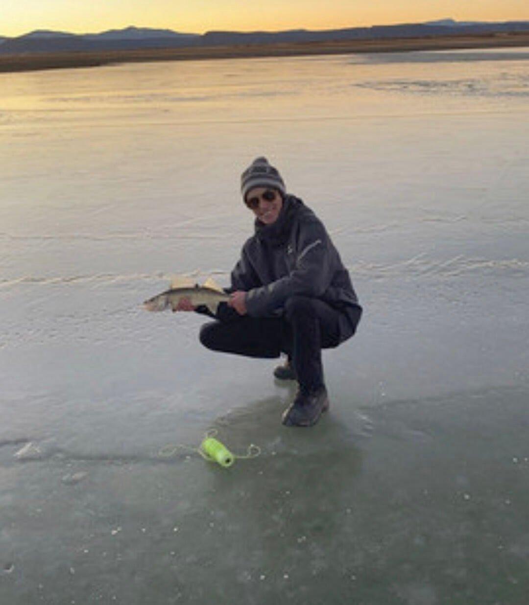 Little anglers fish big