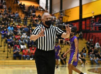 New Mexico sports referee Mark Salazar