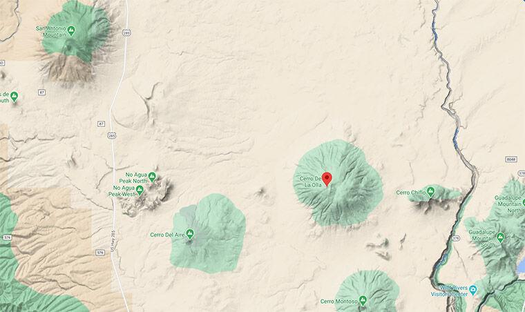 Congressional bill introduced to protect Cerro de la Olla as wilderness