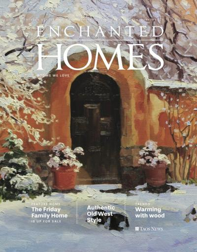 LOOK FOR IT! Enchanted Homes magazine