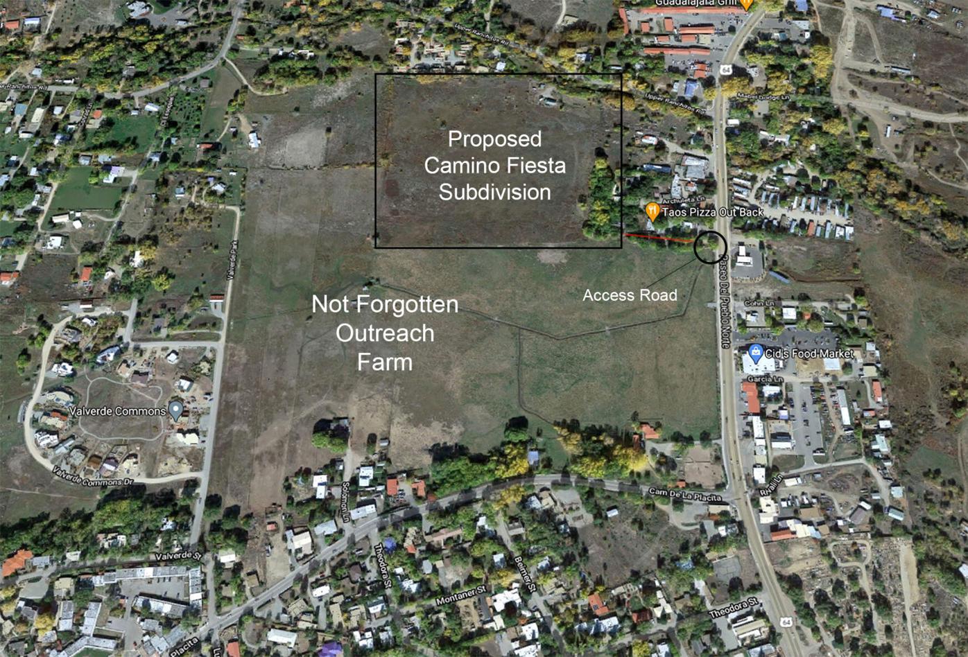 Camino Fiesta subdivision application denied