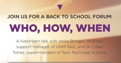 TODAY > Join us for a Back-to-School forum at 2pm!