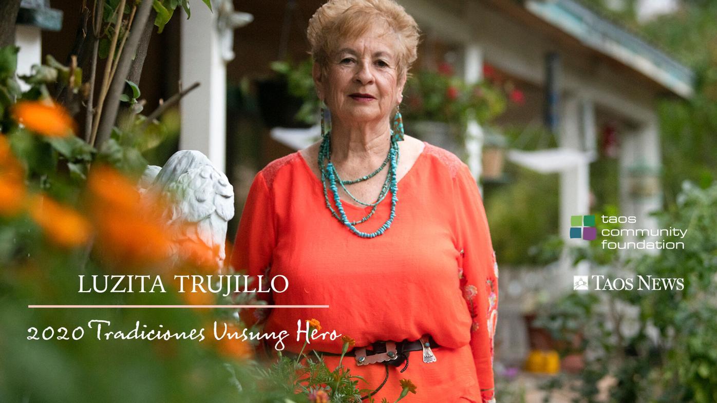 Unstoppable volunteer, teacher, activist, artist: Luzita Trujillo