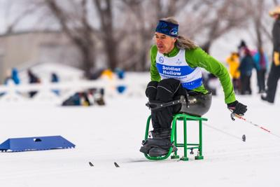 Local skier takes home three bronze medals in U.S. Paralympic Nordic Nationals