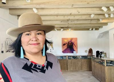 Cherylin Atcitty: Native art on the Plaza