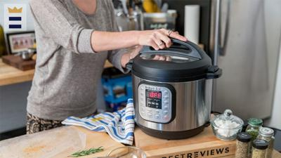 Whether you choose an air fryer or an Instant Pot, pay attention to the unit's capacity. If it's not big enough to prepare an entire meal for all of the people in your household, you may have to cook in batches.