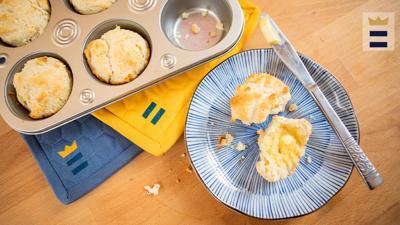 You can make 1 teaspoon of baking powder by combining 1/2 teaspoon cream of tartar with 1/4 teaspoon baking soda.
