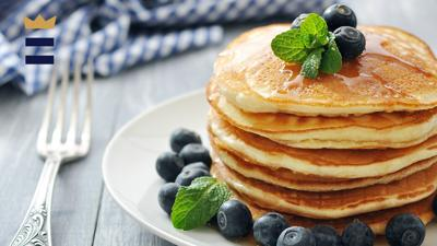 The very best pancakes are those that come fresh off the griddle.