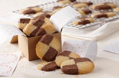 Recipe of the Day: Checkerboard Cookies