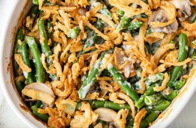 Recipe of the Day: Deluxe Mushroom Green Bean Casserole