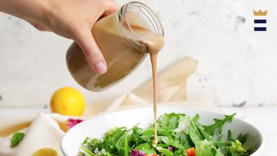 Different ingredients mean different maximum storage times for your salad dressing. Simple mixes like olive oil, vinegar, salt and pepper can last for months. However, if you add perishable ingredients like garlic or mayonnaise, storage time can be as little as three days.