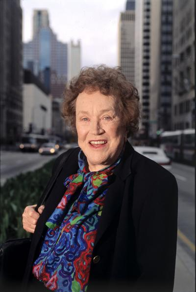 Julia Child, shown in this 1995 file photo.