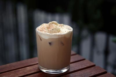 The Pumpkin Spice Spiked Coffee is photographed at downtown's Historic Hotel Figueroa on November 19, 2019, in Los Angeles, Calif.