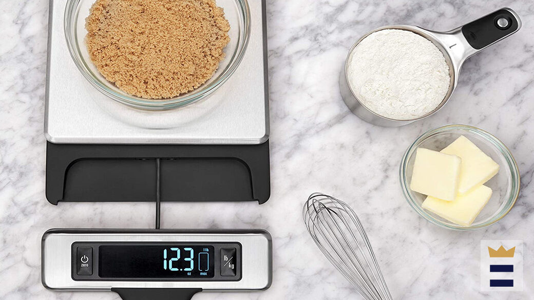 """When weighing produce on a kitchen scale, it is important to consider their """"clean weight"""", the actual weight after cores, peels, seeds, stalks and other unusable parts have been removed."""