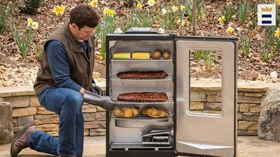 With the advent of patio-size box smokers connected to electricity or a propane tank, practically anyone can smoke meat at home. All it takes is a little know-how and a well-made box smoker.