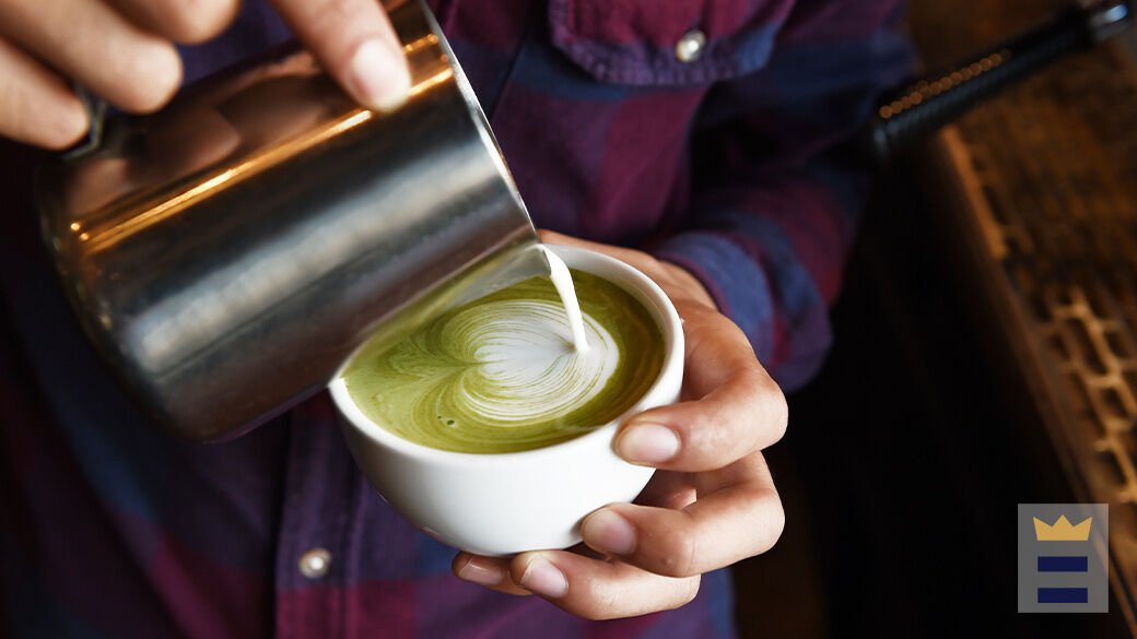 How to make a Starbucks matcha latte