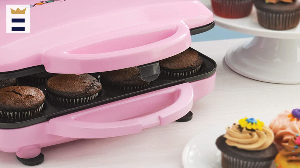 You can keep your cupcake maker's nonstick coating in good shape by periodically wiping down the plates with oil.