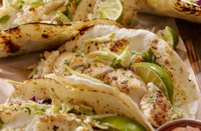 Recipe of the Day: Fish Tacos With Apple Slaw