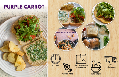 Meal Kit Monday: A Review of Purple Carrot