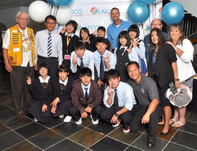 City rolls out welcome mat for students from Largo's sister city in Japan
