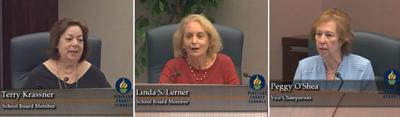 School Board says farewell to three long-time members