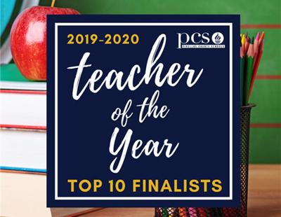 Top 10 finalists for Teacher of the Year named